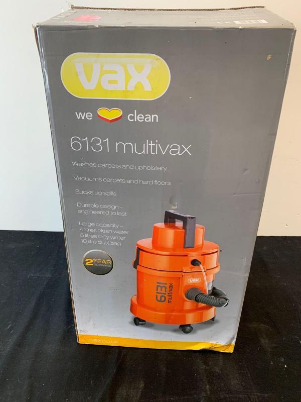 A boxed Vax 6131 multivax - Price Estimate: £ - £