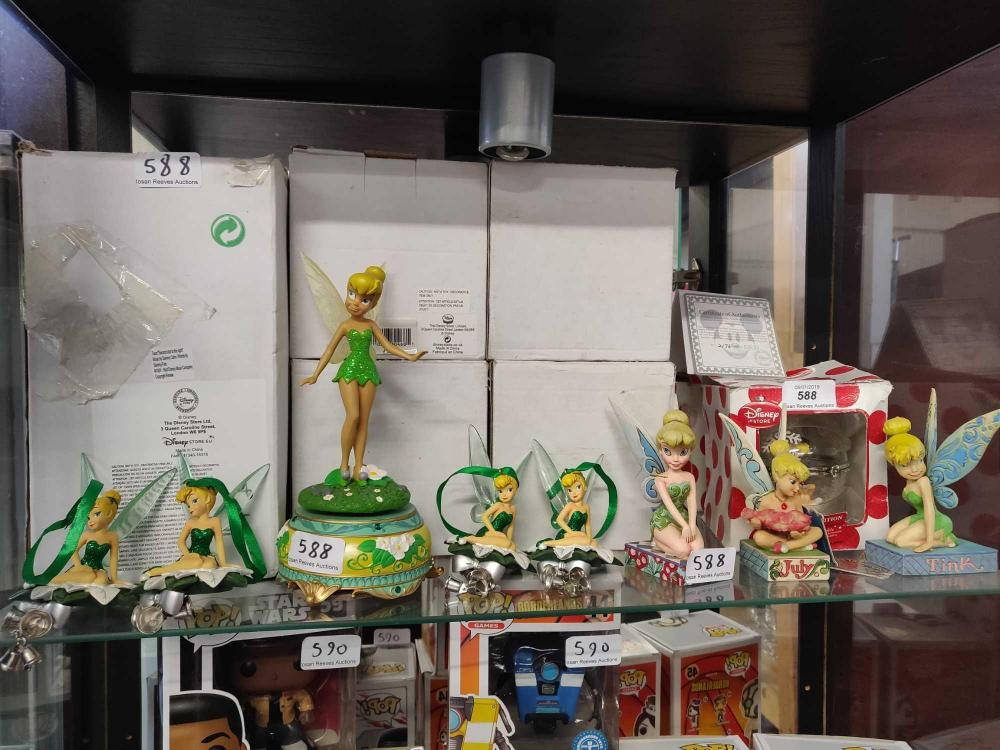Tinkerbell Christmas Decorations Uk.A Collection Of Disney Tinkerbell Christmas Decorations And